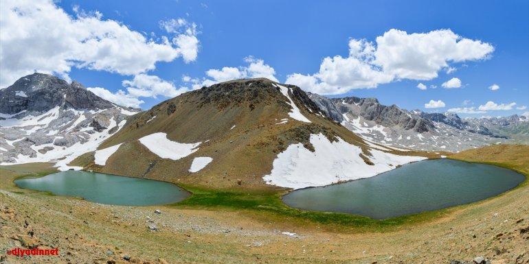 """Mercan Dağları'nın """"mavi boncukları"""" doğa ve fotoğraf tutkunlarını hayran bırakıyor"""