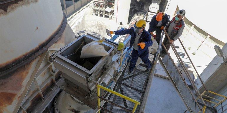 Van'da 4,5 ton uyuşturucu fabrika kazanında imha edildi