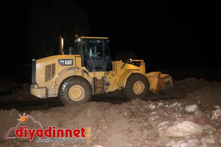sel olan etkili açtı yol bir hasara köyde Ağrı'da 4