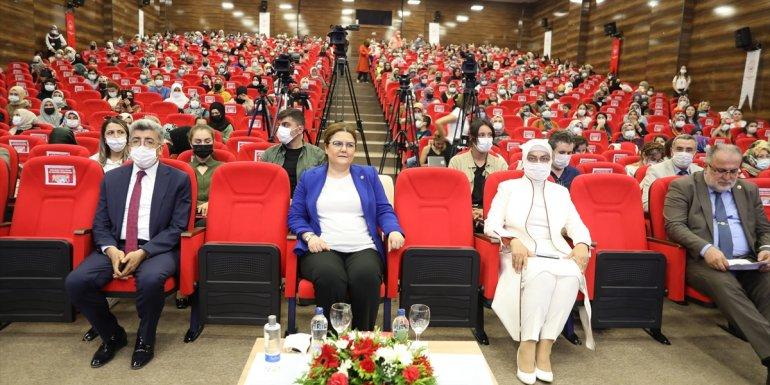 Aile ve Sosyal Hizmetler Bakanı Derya Yanık, Van'da konuştu: