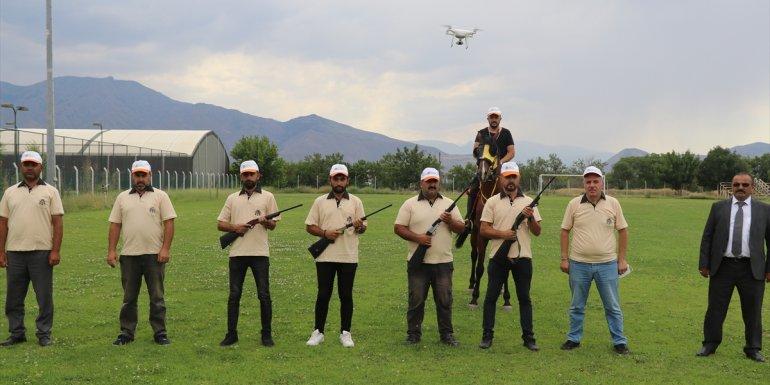 Erzincan'da kaçan kurbanlıklar drone ile takip edilip ATV yardımıyla yakalanacak