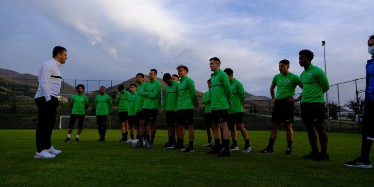 GZT Giresunspor, Erzurum'da sezon hazırlıklarına başladı