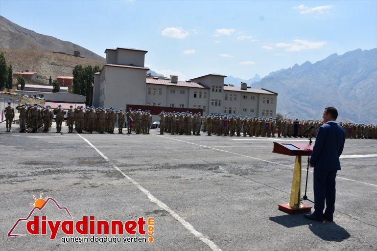 güvenlik Akbıyık, HAKKARİ - Vali güçleriyle bayramlaştı 3
