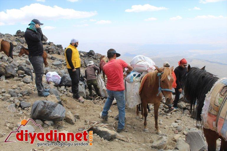 Ağrı destekle Dağı IĞDIR eteklerinde köylüler, - turizmini lojistik dönüştürdü tırmanış kazanca 2