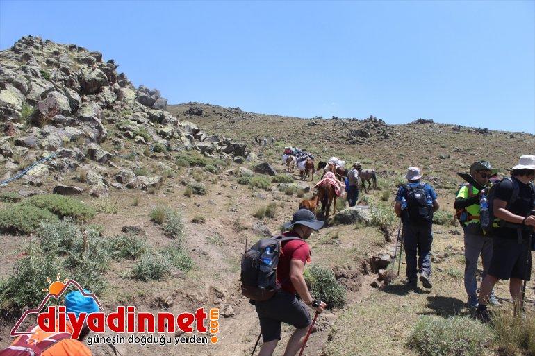 IĞDIR lojistik turizmini - Ağrı kazanca Dağı destekle köylüler, dönüştürdü tırmanış eteklerinde 10