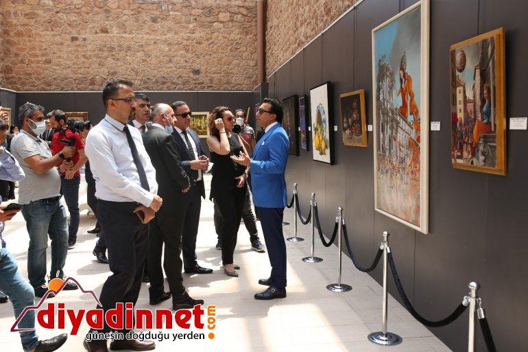 İtalyan ressamların eserleri tarihi İshak Paşa Sarayı nda9