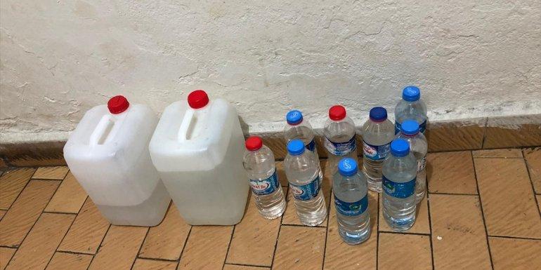 Malatya'da sahte içki ele geçirildi: 1 gözaltı
