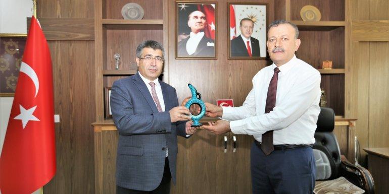 NEVÜ Rektörü Aktekin, BEÜ Rektörü Elmastaş'ı ziyaret etti