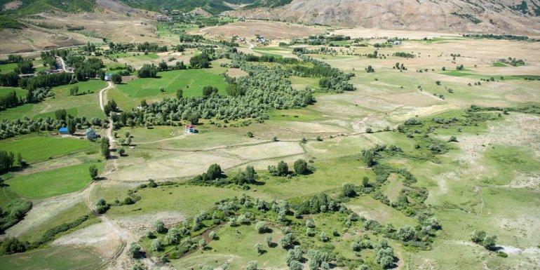 Ovacık'ın doğal güzellikleri havadan görüntülendi