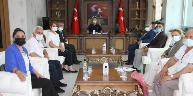 Türkiye Muhtarlar Federasyonu Başkanı Aktürk'ten Kaymakam Demirer'e ziyaret