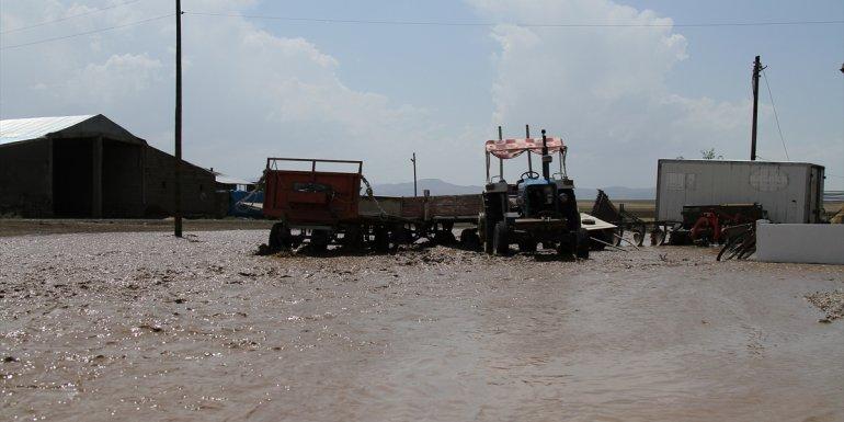 Van'da sel nedeniyle bazı tarım arazileri zarar gördü