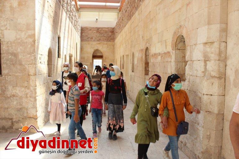 gezdi Paşa tarihi Sarayı'nı Ağrı'da İshak çocuklar 7