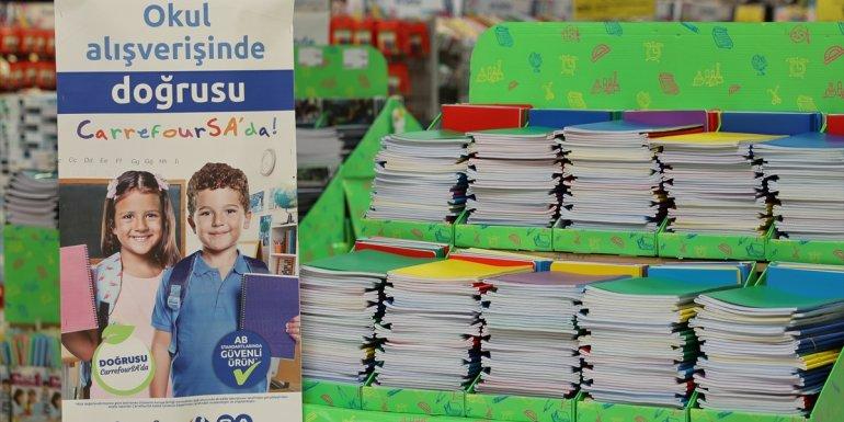 CarrefourSA binlerce kırtasiye ürününü müşterilerin beğenisine sunuyor