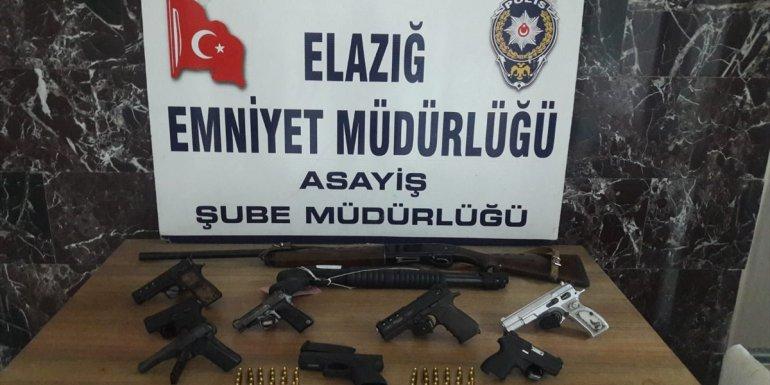 Elazığ'da asayiş ve uyuşturucu operasyonlarında yakalanan 19 kişi tutuklandı