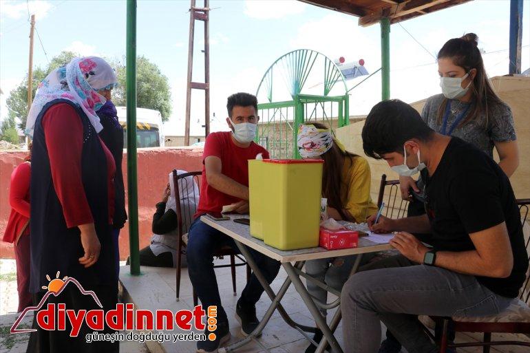 aşı çok seferberliği illerden sağlık sürüyor Ağrı'da vakalarının ekiplerinin en Kovid-19 arttığı 4
