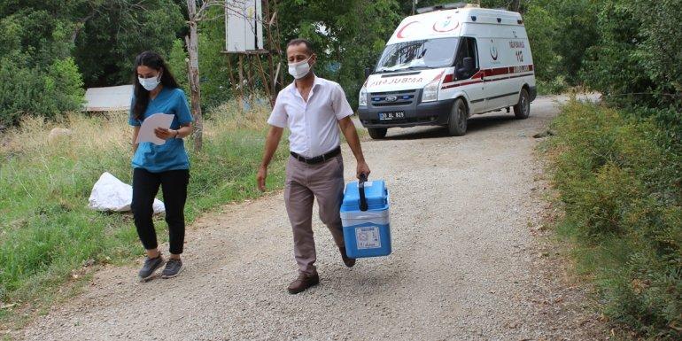 Van ve Hakkari'de mobil ekipler, 'mavi' kategoriye geçmek için çaba gösteriyor