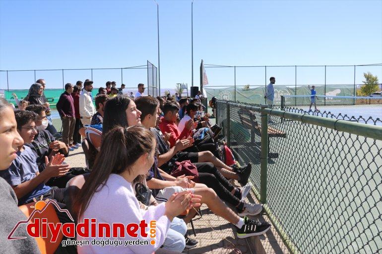 Ağrı 23 erdi AĞRI Turnuvası katıldığı sona ilden - sporcuların Tenis Dağı 6
