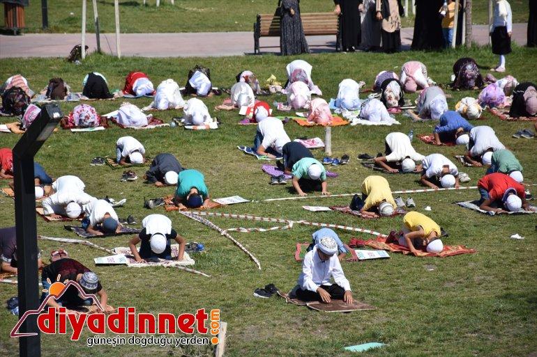 Ağrı'da çocuklara namazı sevdirmek için etkinlik düzenlendi5