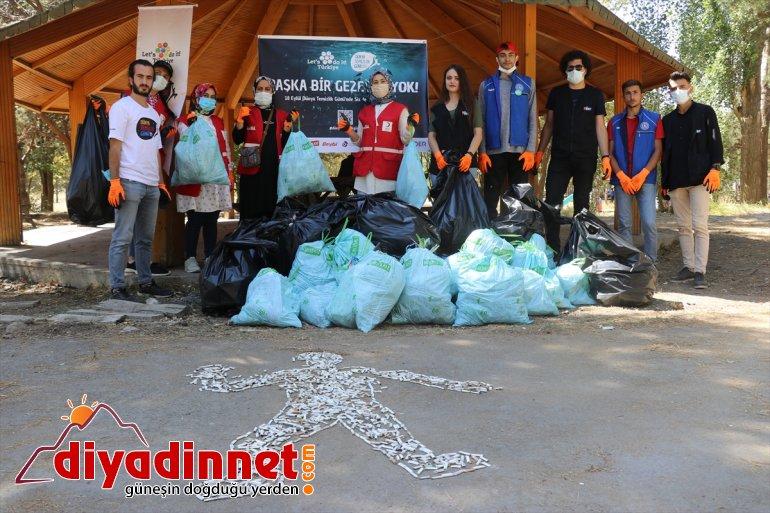Gönüllüler temizliği çevre yaptı AĞRI - 5