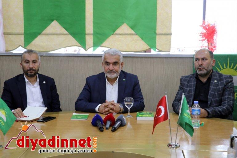 Başkanı Genel HÜDA geldi muhtarlarla Yapıcıoğlu, bir - PAR araya AĞRI 2