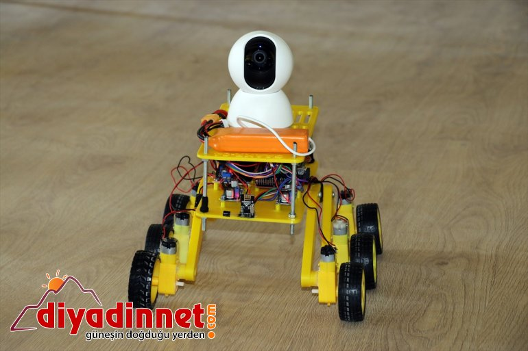 robotu Lise kurtarma öğrencileri - geliştirdi AĞRI arama 12