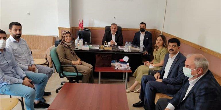 AK Parti Elazığ Milletvekili Bulut, Keban ilçesini ziyaret etti 1