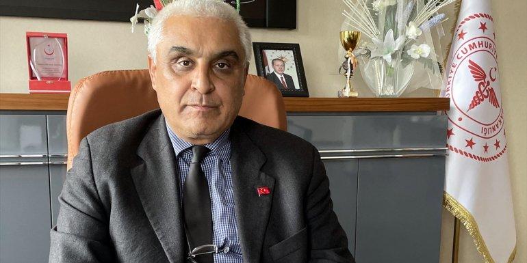 ARDAHAN - Ardahan Sağlık Müdürü Özdemir'den gençlere aşı olun çağrısı1