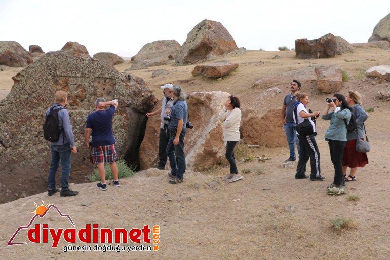 Diyadinliler turistlerini ağırladı2