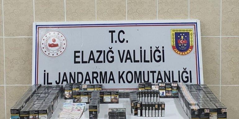 Elazığ'da bir marketten hırsızlık yaptıkları iddiasıyla 4 şüpheli gözaltına alındı