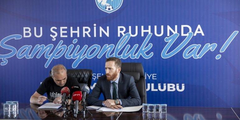Büyükşehir Belediye Erzurumspor'da yönetim ve teknik heyet arasındaki buzlar eriyor