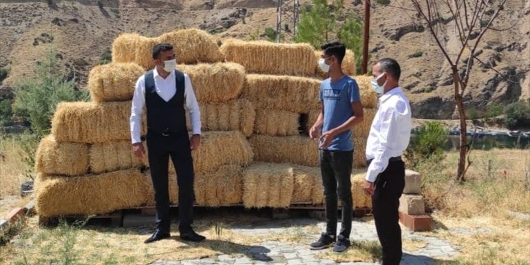 Keban'da Genç Çiftçi Projesiyle mantar yetiştirme tesisi kuruldu