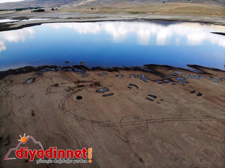 Patnos Kuraklık kuşların ve Barajı'nı hayat vurdu kaynağı tarımın da 19