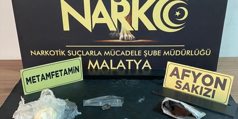 Malatya'da uyuşturucu operasyonunda yakalanan 3 zanlı tutuklandı1