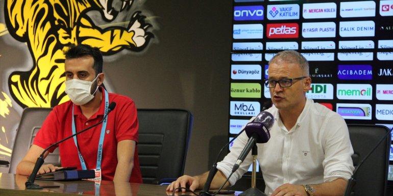 Yeni Malatyaspor-Fatih Karagümrük maçının ardından