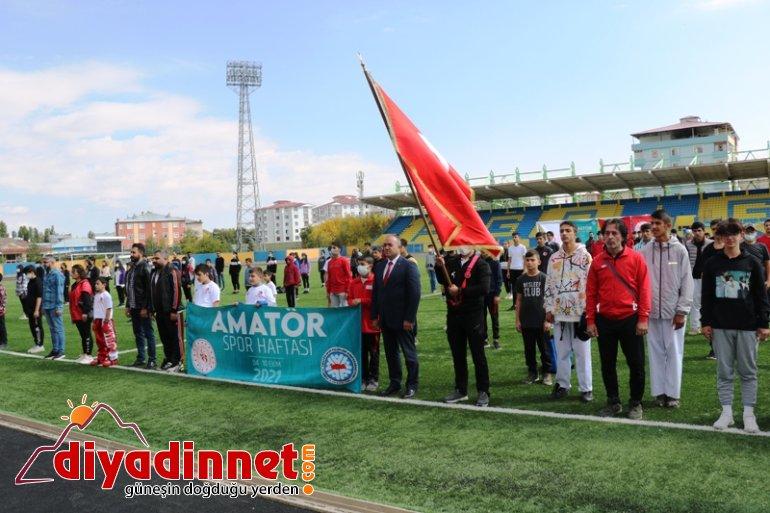 Ağrı Amatör Spor Haftası kortej yürüyüşü1