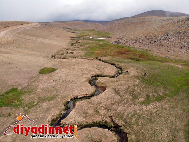 Ağrı'nın güzelliği sonbahar mendereslerde volkanik platolarındaki 19
