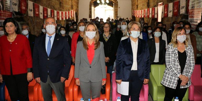 CHP Kadın Kolları Genel Başkanı Nazlıaka, Hekimhan'da temaslarda bulundu
