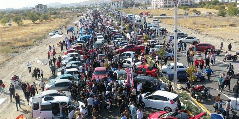Elazığ'da 1. Modifiyeli Araç ve Motosiklet Festivali düzenlendi