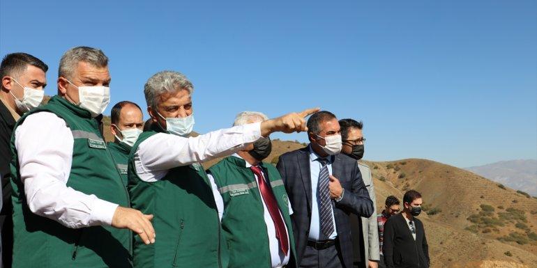 Erzincan'daki Ballı Barajı'nın tamamlanmasıyla 10 bin 410 dekarlık alanda sulu tarım yapılabilecek 1
