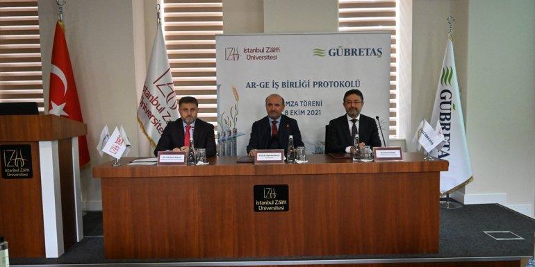 GÜBRETAŞ'tan Ar-Ge'de yeni bir üniversite-sanayi iş birliği hamlesi