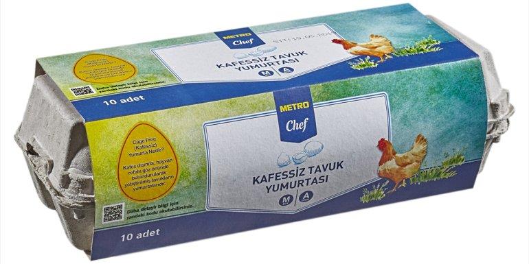 Metro Türkiye'nin raflarındaki tüm yumurtalar 2025 itibarıyla yüzde 100 kafessiz olacak1