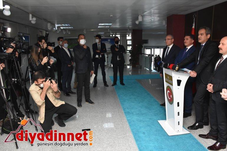 Milli Eğitim Bakanı Mahmut Özer, Ağrı'ya yapılacak eğitim yatırımlarını değerlendirdi: