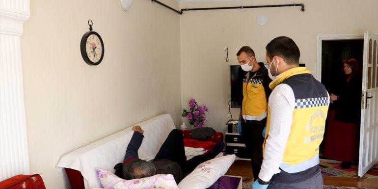 Yatalak hasta belediyenin evde sağlık hizmetiyle sağlığına kavuştu1